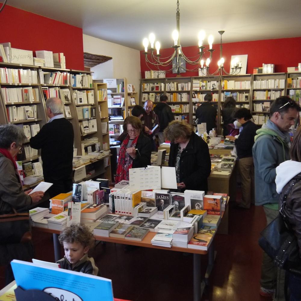 Librairie Le Marque Page à Lagrasse